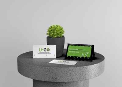 conception logo et cartes d'affaires