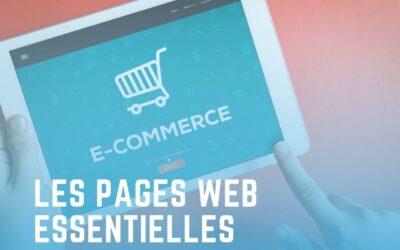 Quelles pages web ai-je besoin pour ma boutique en ligne ?